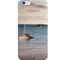 Offshore mooring iPhone Case/Skin