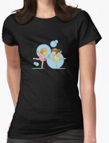 Little Ballerinas-BFF Womens Fitted T-Shirt