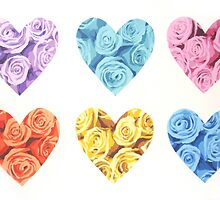 Hearts and Roses by suzienichols