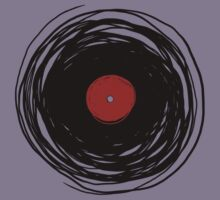Spinning within with a vinyl record... Kids Clothes