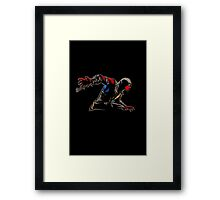 Mortal Spider X Framed Print