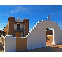 San Geronimo Church, Taos, New Mexico Photographic Print
