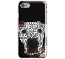 Stone Rock'd Dog 2 by Sharon Cummings iPhone Case/Skin