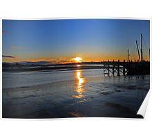 Skippool Sunrise Poster