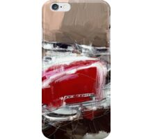 Red Lambretta iPhone Case/Skin