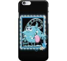 Blue Monie  iPhone Case/Skin