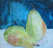 Blushing Pears by JennyArmitage