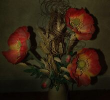 Still Life Poppies by Catherine Hamilton-Veal  ©