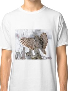 Great Grey Owl - Dunrobin, Ontario Classic T-Shirt