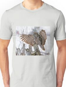 Great Grey Owl - Dunrobin, Ontario T-Shirt