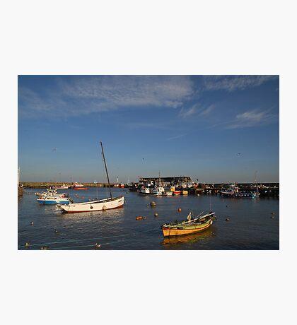 Bridlington Harbour No2 Photographic Print