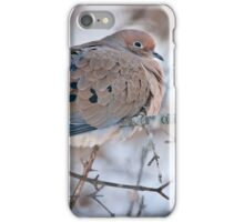 Mouring Dove In Shrubs iPhone Case/Skin