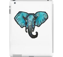TheBlueElephant large iPad Case/Skin