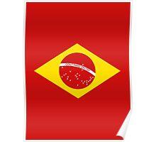 Coutinho Brazil Flag Poster