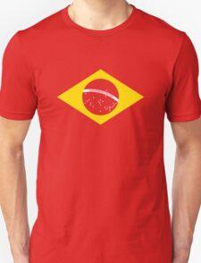 Coutinho Brazil Flag Unisex T-Shirt