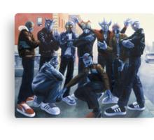 Cold Lampin' Canvas Print