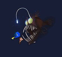 "Nemo, Dory and The ""BIG"" Fish by CreativeKat"