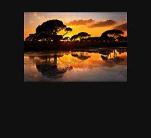 Sunset @ Strofilia forest, Prokopos lake Unisex T-Shirt
