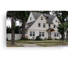 house in Queens Canvas Print