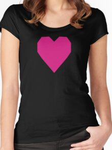 Barbie Pink  Women's Fitted Scoop T-Shirt