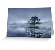 Morning Mist - Tarn Hows Greeting Card