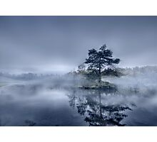 Morning Mist - Tarn Hows Photographic Print