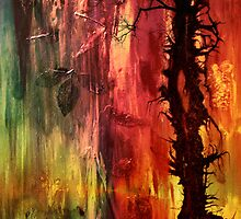 October II Abstract by Patricia Motley