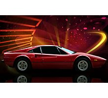 "1979 Ferrari 308 GTB ""Catch Me If You Can"" #2 Photographic Print"