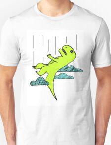 Falling T-Rex T-Shirt