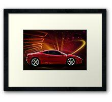 """2004 Ferrari 360 Modena """"Catch Me If You Can"""" #3 Framed Print"""