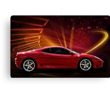 """2004 Ferrari 360 Modena """"Catch Me If You Can"""" #3 Canvas Print"""