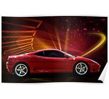 """2004 Ferrari 360 Modena """"Catch Me If You Can"""" #3 Poster"""