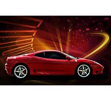 "2004 Ferrari 360 Modena ""Catch Me If You Can"" #3 Photographic Print"