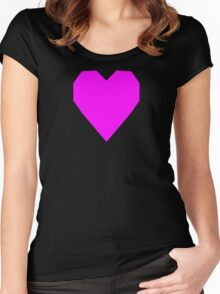 Ultra Pink  Women's Fitted Scoop T-Shirt