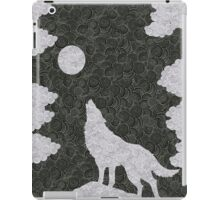 Wolf in the night iPad Case/Skin
