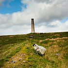 Yarnbury Chimney - Grassington Moor by James Elkington