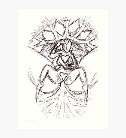the divine feminine Art Print