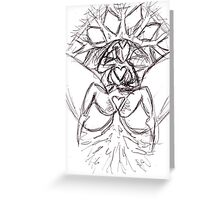 the divine feminine Greeting Card