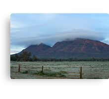 Wilpena Frost Canvas Print