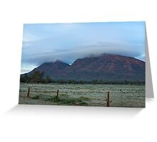 Wilpena Frost Greeting Card