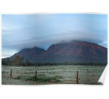 Wilpena Frost Poster