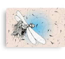 Luckdragonfly Canvas Print