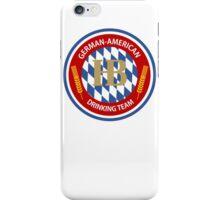 German-American Drinking Team iPhone Case/Skin
