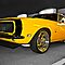 Yellow 1968 Chevrolet Camaro RS by Ferenghi