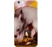 Wolf Lullaby  iPhone Case/Skin