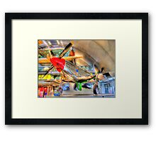 North American P-51D Mustang - Hendon - HDR Framed Print