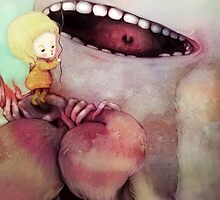 Monster Toothache by flyokay