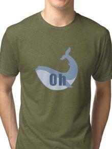 Oh Whale Tri-blend T-Shirt