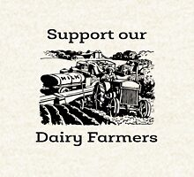 Support our Dairy Farmers Zipped Hoodie