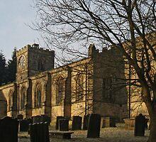 All Saints, Harewood by WatscapePhoto